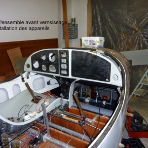 Vue d'ensemble du cockpit